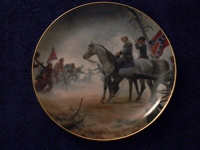 "Civil War Collector Plate: "" It's ALL My Fault"", LIMITED ED"