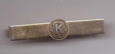 Kiwanis International- Tie Clasp-Two Inches Width-Vintage