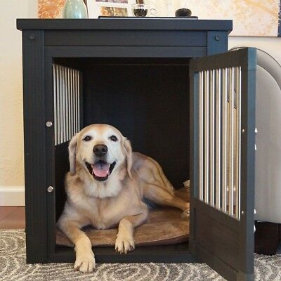 Dog Crate Kennel Large Pad Crates Mat Tray Puppy House Pet Side XLarge Table XL