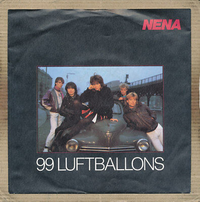 "7"" Single - Nena, 99 Luftballons"