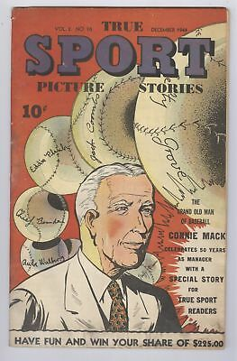 True Sport Picture Stories Comic Vol 2 #10 (1944) GD Street & Smith Golden Age