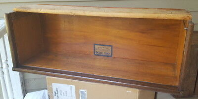 Antique OAK GLOBE WERNICKE  Stacking Bookcase CENTER Section D-299