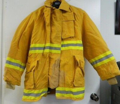 FYREPEL Firefighter Turnout Gear Bunker Padded Jacket Yellow Size MEDIUM #3