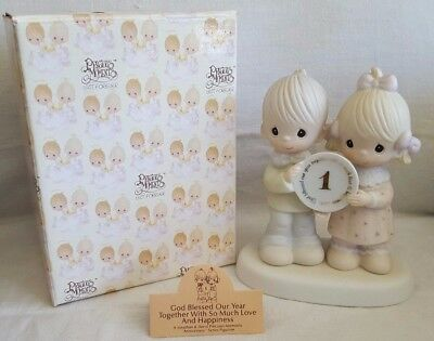God Bless Our Year Together... ~ Precious Moments ~ E-2854 (Enesco Collectible)