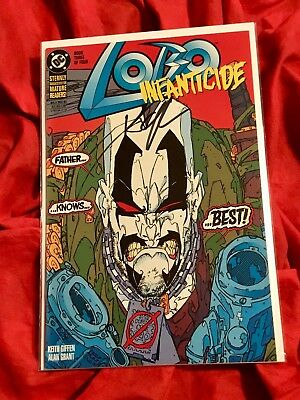 Lobo Infanticide #3~Limited Series~Signed By Writer Kieth Giffen~
