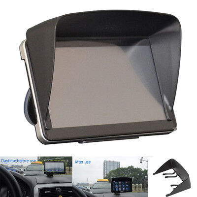 "Universal 7"" Sun Shade Visor Block Sunlight  for Car GPS Navigator LCD Monitor"