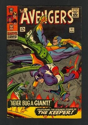 Avengers #31 - The Keeper - Marvel Comics (1966) - Silver Age - Fine