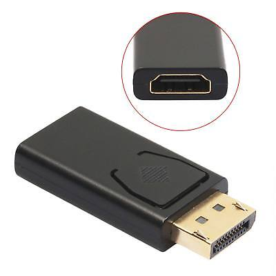 Display Port DP Male to HDMI Female Converter Adapter PC Laptop To Projector USA