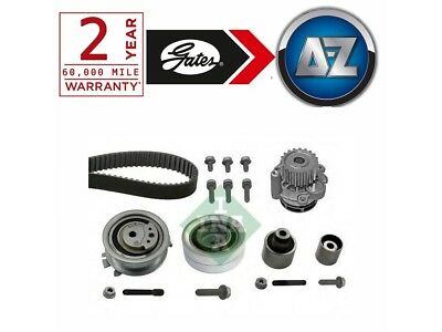 bc98 For Audi A4 2.0 TDI 150HP -15 Powergrip Timing Cam Belt Kit And Water Pump