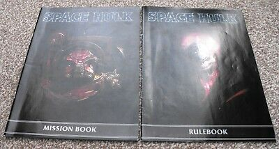 Warhammer Space Hulk 2009 Edition Rule Book and Mission Book