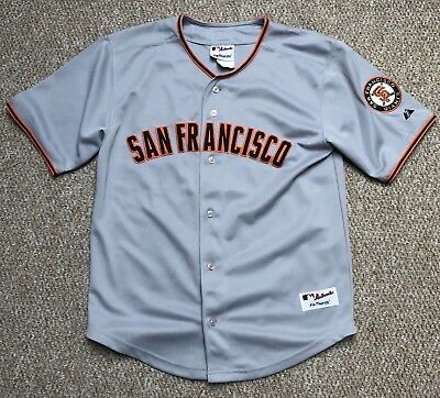 San Fransisco Giant Youth Jersey, XS, Small Men, Majestic Authentic Collection