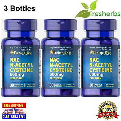 NAC N-ACETYL CYSTEINE 600Mg OCD BIPOLAR MOOD DISORDER BRAIN SUPPLEMENT 90  CAPS
