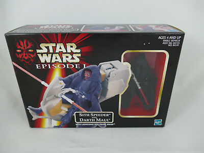 Star Wars Episode 1 Sith Speeder And Darth Maul Mib