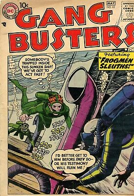Gang Busters #63 GD+ 2.5 DC 1958 See My Store