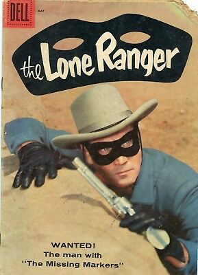 The Lone Ranger #119 GD 2.0 Dell 1958 See My Store