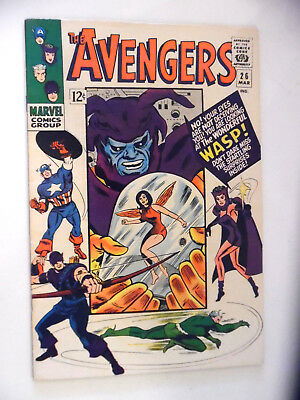 The Avengers #26 (Wasp, Mar 1966, Marvel)