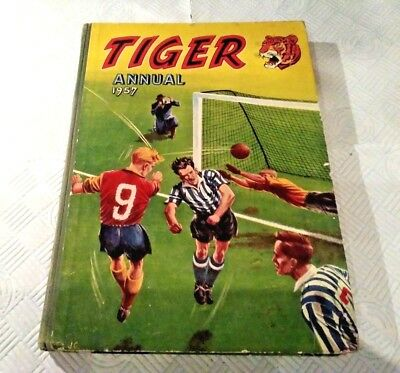1957 First TIGER ANNUAL.Roy Of The Rovers Etc.VG