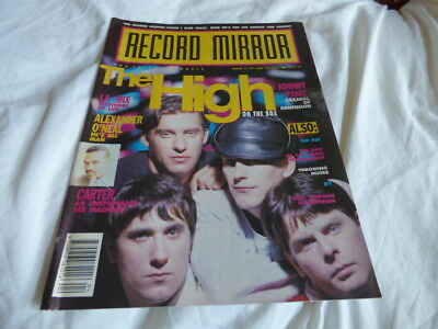 Record Mirror - 26/1/91, The High / Tears For Fears / Throwing Muses / Carter