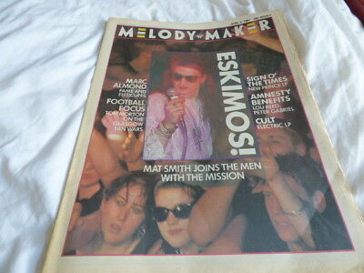 Melody Maker - 4/4/87, The Mission / Marc Almond / Deacon Blue / Mel And Kim