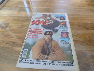 Nme - 6/6/92, Disposable Heroes Of Hiphoprisy / The Mission / Kiss