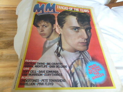 Melody Maker - 19/3/83, Tears For Fears / Big Country / Cocteau Twins / D.a.f.