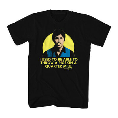 Napoleon Dynamite Uncle Rico Throw A Pigskin A Quarter Mile Adult T Shirt