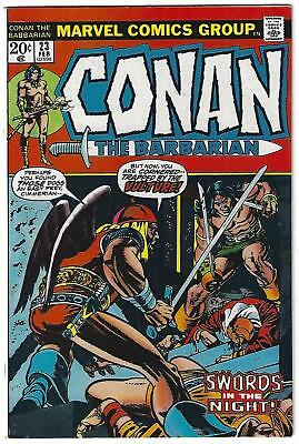 Conan the Barbarian #23, 1st Appearance Red Sonja, VF- 7.5, 1st Print,1973,Scans