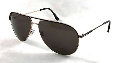 8e351d4dd8 TOM FORD Erin TF466 TF 466 50J Sunglasses Frame 61-12-140 Brown Gold