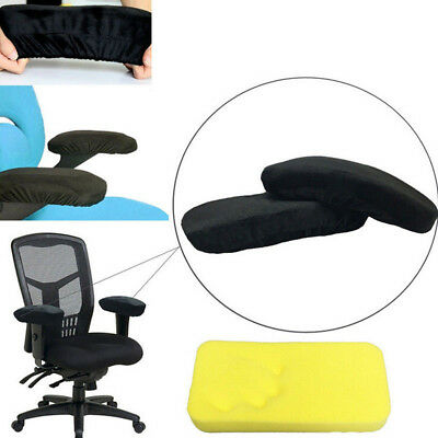 Memory Cutton Foam Elbow Arm Rest Cover Chair Armrest Cushion Pads Soft Travel