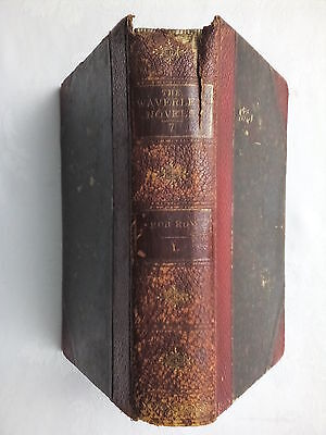 Sir Walter Scott.rob Roy Vol I Of Ii.1878,Rare Antique,B/W Ills,Waverley Vol Vii
