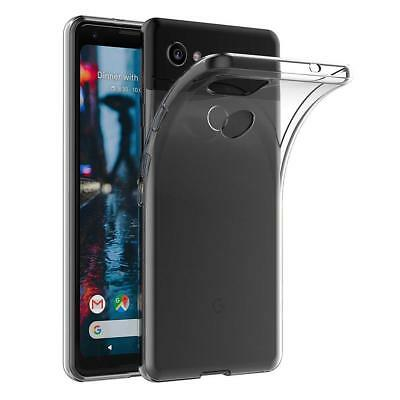 For Google Pixel 2 XL Clear Slim Gel Phone Case Silicone TPU Back Cover