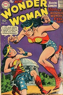 Wonder Woman #175 GD- 1.8 DC 1968 See My Store