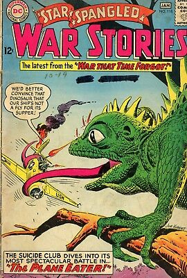 Star Spangled War Stories #118 GD- 1.8 DC 1964 See My Store