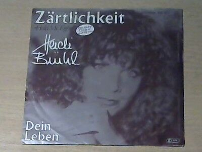 "7"" HEIDI BRÜHL * Zärtlichkeit (JOHNNY NASH Hold Me Tight deutsche Coverversion)"