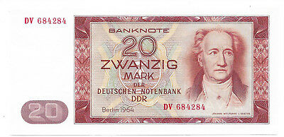 Deutsche Notenbank (DDR) - 20 Mark - 1964