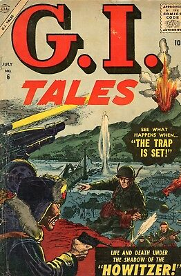 GI Tales #6 GD 2.0 Marvel 1957 See My Store