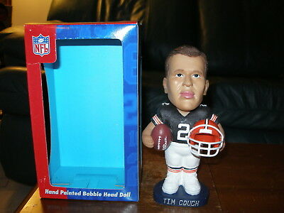 Tim Couch Browns Limited Edition Agp Fine Quality Ceramic Bobblehead Doll New