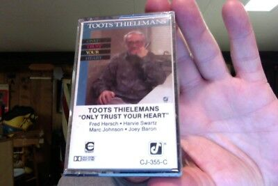 Toots Thielemans- Only Trust Your Heart- new/sealed cassette tape