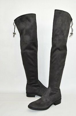 d90c1f3c2c4 NEW! SAM EDELMAN Paloma Over the Knee Boot Black Suede Size 7.5 1D2 ...