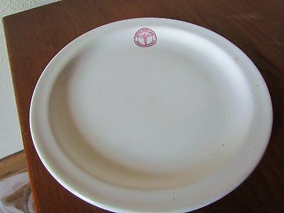 Vintage US Army Medical dept small bread dessert plate Sterling China