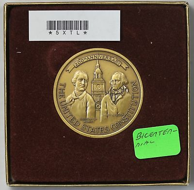 1987 Medal MS United States Constitution Bicentennial