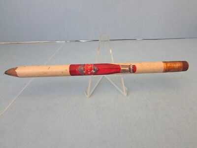 """Lead PENCIL Advertising CHERRY BLOSSOMS Soda Oversize 1/2"""" dia Vintage"""