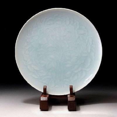 JR1: Japanese porcelain plate by Great National Human Treasure, Kaiji Tsukamoto