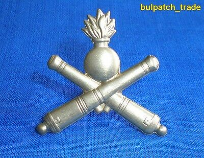 Bulgarian Army ARTILLERY Pin BADGE Insignia for Shoulder boards