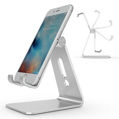 Cell Phone ABS Table Desk Stand Holder For Mobile Phone Tablet Universal B