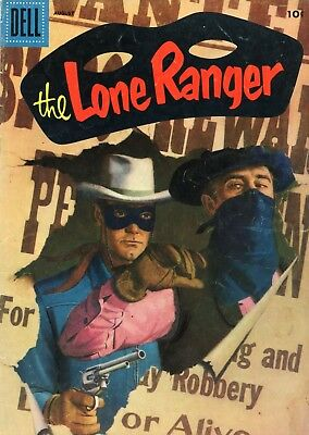The Lone Ranger #98 VG- 3.5 Dell 1956 See My Store