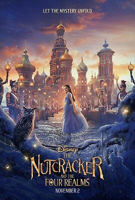 Nutcracker and the Four Realms - original DS movie poster - D/S 27x40 Advance B