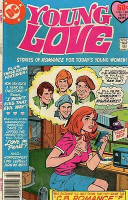 Young Love #126 Last Issue VG 4.0 DC 1977 See My Store