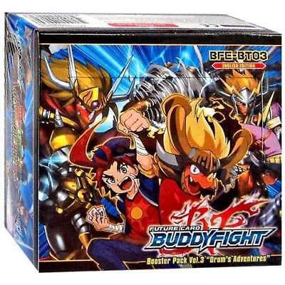 FUTURE CARD BUDDYFIGHT * Booster Set Vol. 3: Drum's Adventures Box (30 Packs)