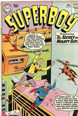 Superboy #85 VG+ 4.5 DC 1960 See My Store